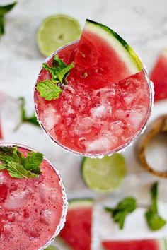 Watermelon Agua Fresca Cocktail Recipe
