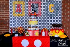 Mickey Mouse clubhouse DIY Party Decorations | My Parties} Addie Claire's Mickey Mouse Clubhouse 2nd Birthday