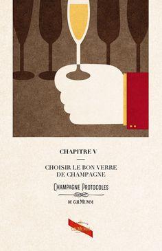 Protocolos para degustar el Champagne