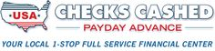 USA Checks Cashed & Payday Advance offers payday loans, check cashing, car title loans, DMV registration, MoneyGram (wire transfer), prepaid debit cards, and other services in San Bernardino, CA as well as Apple Valley, Carson, Chula Vista, Corona, Costa Mesa, Fontana, Hesperia, Lemon Grove, Moreno Valley, National City, Oceanside, Ontario, Riverside, San Diego, Spring Valley, Victorville, and more. See https://www.usacheckcashingstore.com/san-bernardino for details.