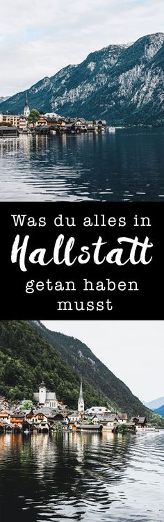 One of the most famous cities in Austria // Hallstatt World Pictures, Central Europe, Far Away, Austria, Travel Destinations, Road Trip, Adventure, Vacation, City