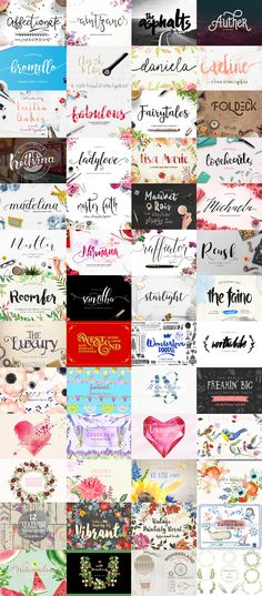 Say hello to our February bundle! Packed full of more than 32 fonts (and a whopping seven bonus fonts!) as well as20 graphics packs. All of this for a huge discount of 98% OFFretail value! With some truly spectacular fonts and awesome illustrations, this really could be one of ourbest bundles yet! As always a complete licence is included, so have fun and enjoy!