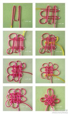 Rabbit Hawker - DIY nudo hechas a mano> Chino