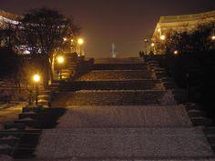 Потемкинская лестница ночью, г. Одесса