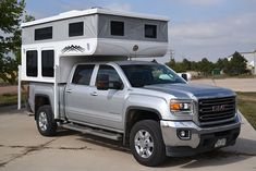 In the Hallmark Buyers Guide we show off all of their camper models. From the Milner to the Cuchara, Hallmark will custom build a for you! Truck Cap Camper, Short Bed Truck Camper, Truck Campers For Sale, Slide In Truck Campers, Truck Camper Shells, Truck Bed Camping, Pickup Camper, Camper Tops, Kabine