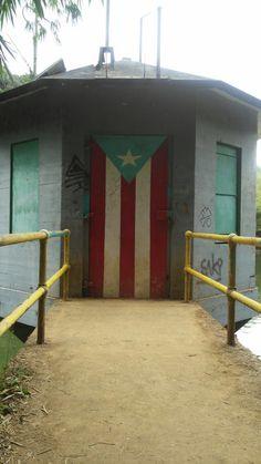 Iniciativa: 78 Pueblos, 1 Sola Bandera por HectorPR. Lago Garzas en Adjuntas.