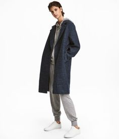 Wool-blend Coat   Dark blue   Women   H&M US