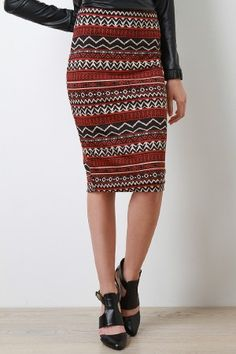Tribal Discovery Skirt