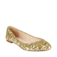 Any shoes that sparkle are the right pair for me. These are by Steve Madden and are on sale for $55.97.