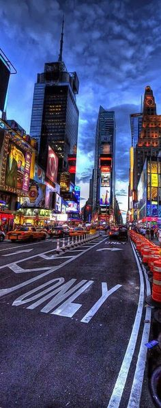 Times Square, New York, USA New York is my favourite place