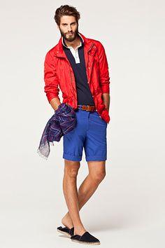 Carolina Herrera - CH Men's Ready-to-Wear - 2013 Spring-Summer Dapper Gentleman, Gentleman Style, Preppy Style, My Style, Estilo Preppy, Ch Carolina Herrera, Poses, Perfect Man, Summer Looks