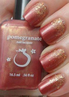 ˚Pomegranate Lacquer Polish - Autumnesque
