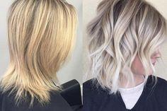 HOW-TO: Platinum Blonde Highlights on Virgin Dirty Blonde Hair   Modern Salon