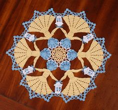 Vintage Crochet ~ Circle of Enchantment Crinoline Doily {pattern available}