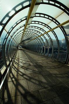 footbridge...
