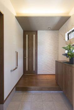 Main Entrance, Ideas Para, Building A House, Villa, Doors, Living Room, Mirror, Architecture, Interior