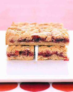 Almond Fruit Bars - marthastewart.com