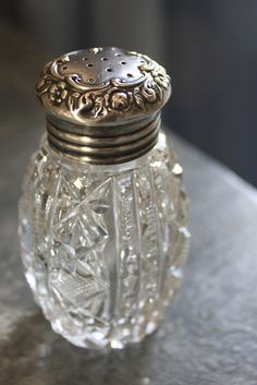 Vintage salt shaker by Romantic Home, via Flickr