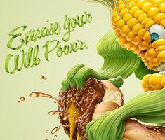 Choose to live healthy by Oscar Ramos, via Behance
