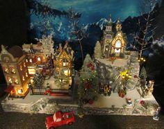 "Christmas Village Display, MOUNTAIN OVERLOOK platform base 28x12"" Dept 56 Lemax  | Collectibles, Decorative Collectibles, Decorative Collectible Brands | eBay!"