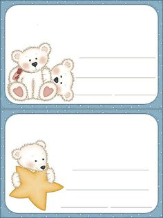 View album on Yandex. Tatty Teddy, Teddy Bear, Printable Cards, Printables, Candy Cane Poem, College Crafts, Envelope Art, Envelope Templates, Book Labels