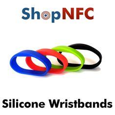 Pulsera NFC de silicona - Premium - Personalizable - Shop NFC Shopping, Products, Bangle Bracelets
