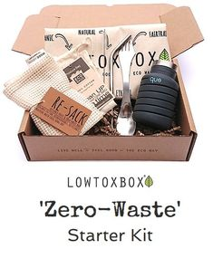 LOWTOXBOX 'Zero-Waste' Starter Kit Our 'Zero-Waste Starter Kit' is the perfect eco-friendly stylish gift set for yourself or a loved one. Ideal for reducing your plastic consumption.  We as individuals have the power to make a positive impact, the Oceans and the Planet will thank us for it! #plastic-free #reduceplastic #plasticpollution