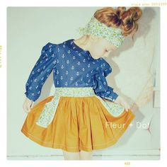 This website has little girl clothes i wish were in my size!    Spring/Summer Collection 2013 Collection - Fleur and Dot