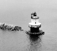 Picture of the past- Spring Point Ledge in South Portland, ME #visitportland #history #lighthouse