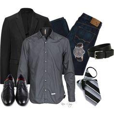 #combinación #saco #ambo #azul #gris #negro #fashion #outfit #men #hombre #invierno #dress code www.mancave.com.ar