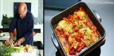 Ku�ec� stehna na kreolsk� zp�sob Lasagna, Ethnic Recipes, Food, Lasagne, Essen, Yemek, Meals