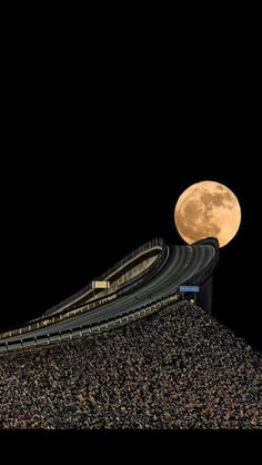 One of the most roads in the world - The through Norway - in our 'Top 10 Most Spectacular roads In The World' See some breathtaking and dangerous roads.ATLANTIC ROAD in Norway~ Beautiful Moon, Beautiful World, Beautiful Places, Beautiful Pictures, Beautiful Norway, The Places Youll Go, Places To See, Dangerous Roads, Shoot The Moon