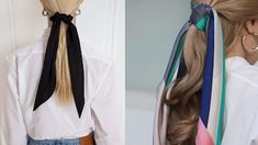 Bruna Ribeiro: CABELO: PENTEADOS COM LENÇOS Hairstyles With Scarves, Different Hairstyles, Horse Tail, Hair Type, Hair Down Hairstyles