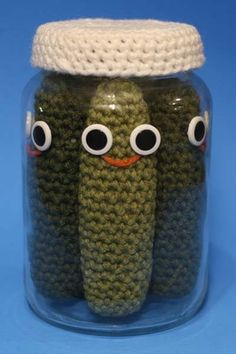 pickles in a jar (Nicole Gastonguay)