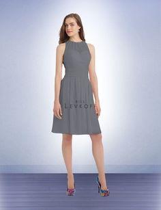 Bridesmaid Dress Style 1103 - Bridesmaid Dresses by Bill Levkoff pewter