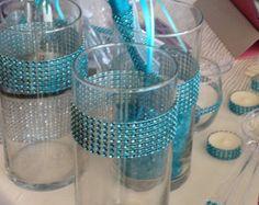 Tiffany Theme, Tiffany Party, Tiffany And Co, Tiffany Outlet, Tiffany Blue Centerpieces, Vase Centerpieces, Wedding Centerpieces, Tiffany's Bridal, Bridal Shower