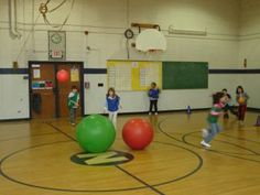 P.E. Dodgeball Alternative Games