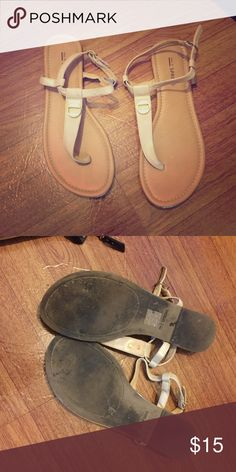💕Call It Spring nude cream flat sandals size 6 36 Call it spring. Size 36 or 6. Nude/cream. Call It Spring Shoes Sandals