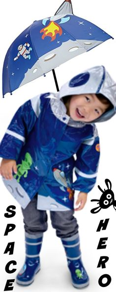 Pirate Children Raincoats with Matching Boots - Won't your little Pirate be surprised with a raincoat and matching boots to make him a real pirate....at least while it's raining. Find out what else goes with this Pirate children raincoats with matching bo