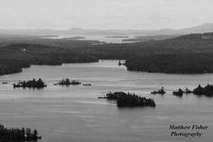 Lakes Region New Hampshire Matted Photo by matthewfisherphoto, $19.99