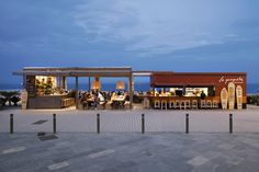 Beat the heat in Barcelona with beach-side ice cream from El Celler's Jordi Roca... http://www.we-heart.com/2014/07/29/la-baceloneta-guingeta-barceloneta-barcelona/