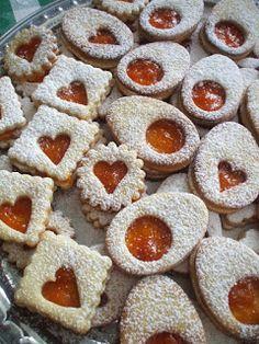 Morzsamesék: Húsvéti linzer Evo, Doughnut, Cookies, Crack Crackers, Biscuits, Cookie Recipes, Cookie, Biscuit