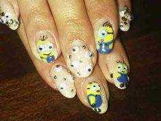 I like the minions. But i dont like the finger nails that have all those eyes
