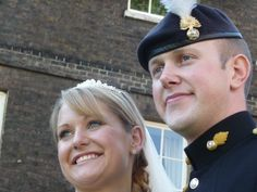 Daughter Katie and son in law Tom on their wedding day