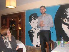 Na spotkaniu grupy Papilio Vita, Bydgoszcz
