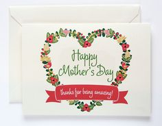 DIY Mother's Day Gifts: 11 Free Printable Cards