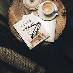 Dark moody winter mornings call for extra coffee + cosy | onlinestylist on Instagram |