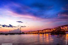 The Nile and Omdurman bridge  النيل و كبري أمدرمان #السودان    (By Muhammed…