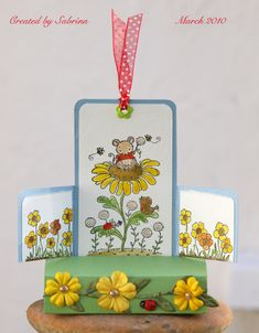 Pop-Up Garden by - Cards and Paper Crafts at Splitcoaststampers 3d Cards, Pop Up Cards, Stampin Up Cards, Squash Card, Pop Up Play, Tarjetas Pop Up, Diy And Crafts, Paper Crafts, Shaped Cards