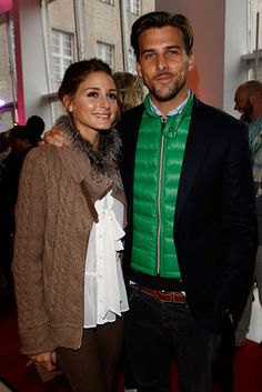 Spotted: Olivia Palermo at the Dior Haute-Couture show as part of Paris Fashion Week on Monday (January 23). Olivia and her beau Johannes Hu...